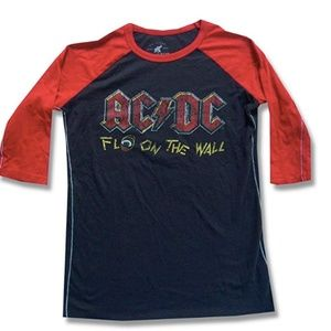 TRUNK LTD AC/DC Fly On The Wall 1985 Tour Raglan